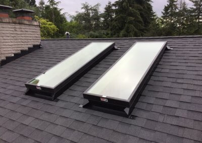 Custom Skylights and Chimney Flashing
