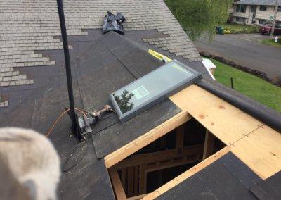 custom roof work