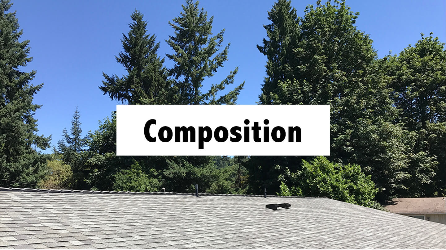 composition roof
