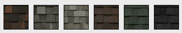 Landmark Pro Roofing Shingles Samples