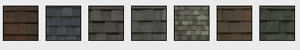 Landmark Roofing Shingles Samples