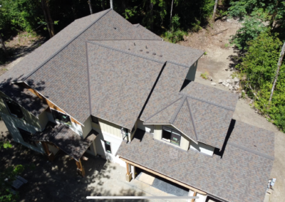 Certainteed Roof Replacement - Heather Blend Color - Northgate Shingles